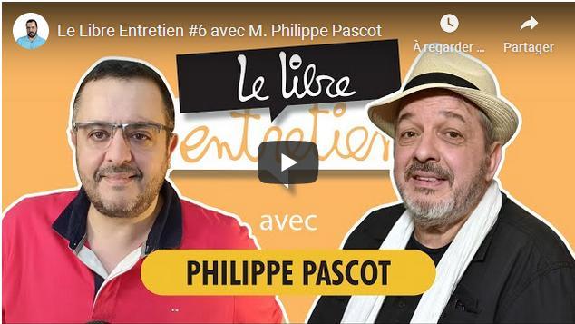 Photo de l'entretien entre Salim Laïbi et Philippe Pascot