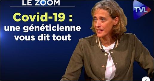 Photo provenant de la vidéo sur les explications de la généticienne Alexandra Henrion-Caude