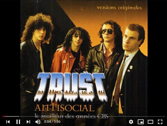 Photo du groupe Trust.