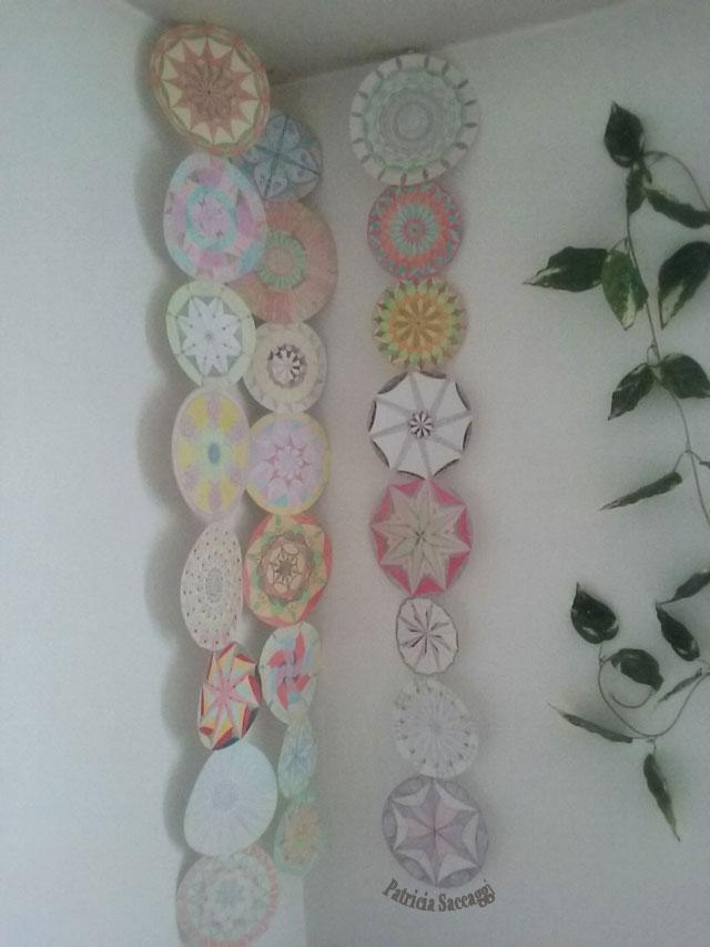 Mandalas que j'ai seulement colorés ou créés.