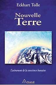 Livre de Eckhart Tolle  'Nouvelle Terre'.