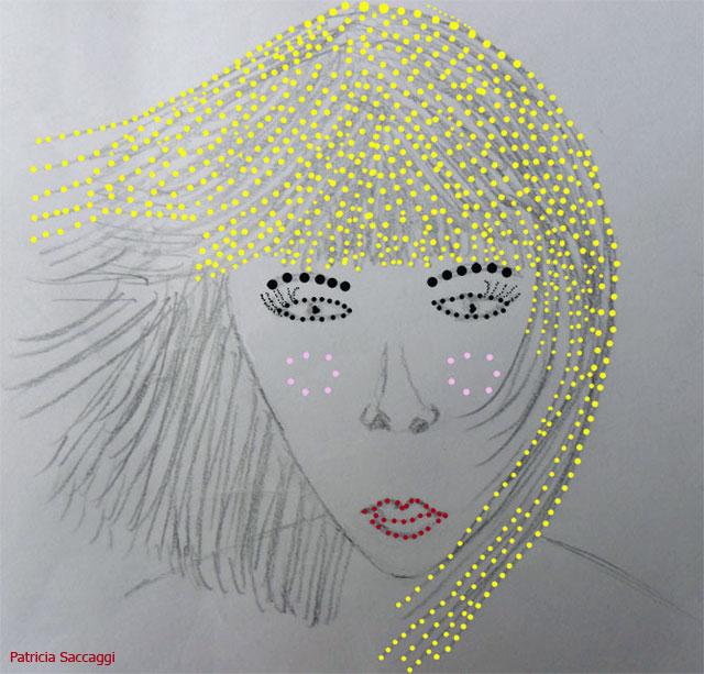 Dessin que j'ai fait au crayon et coloré via Photoshop.