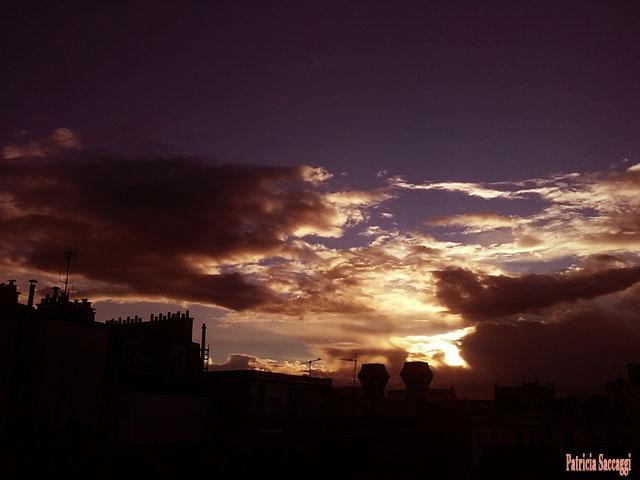 Photo, que j'ai prise, du ciel. Paréidolie